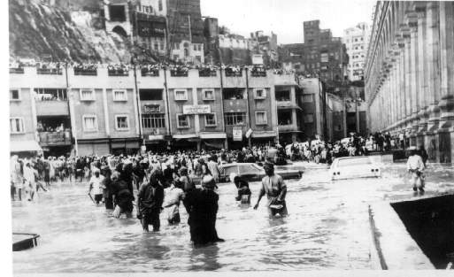 ... Foto-foto tua naik Haji tahun 1953, Mekah masih sangat sepi dan alami