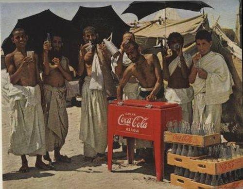 Foto Haji 1953 dan Coca Cola