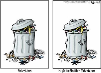 Perbedaan TV Biasa dan HDTV