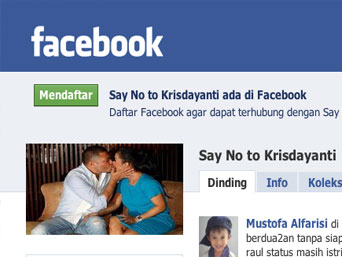 Say No to Krisdayanti | Anti Krisdayanti Facebook Group