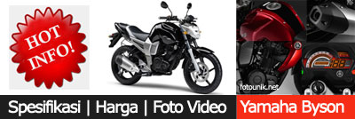 Modifikasi Yamaha Byson | Spesifikasi, Harga, Foto, Video Yamaha Bison
