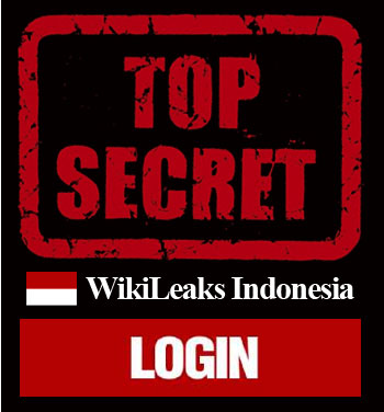wikileaks indonesia