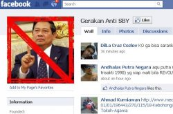 Gerakan Anti SBY di Facebook