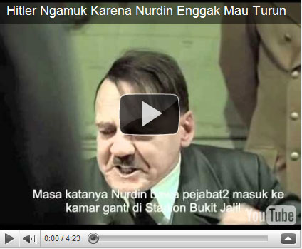 video hitler-nurdin halid