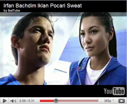 Video Irfan Bachdim di Iklan Pocari Sweat