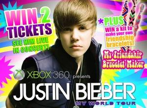 Tiket Justin Bieber