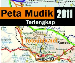 Peta jalur Mudik 2011 | Jawa Bali Sumatra